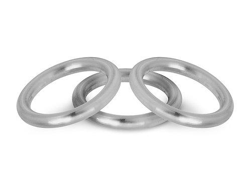 Halo Wedding Ring 3mm