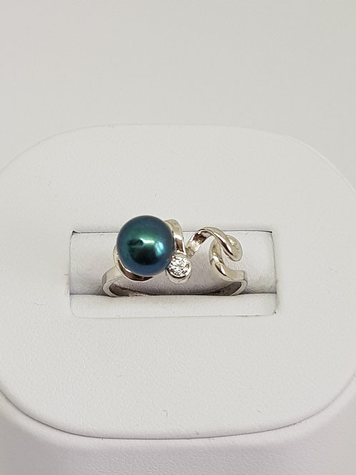 Round Freshwater Pearl Ring A+