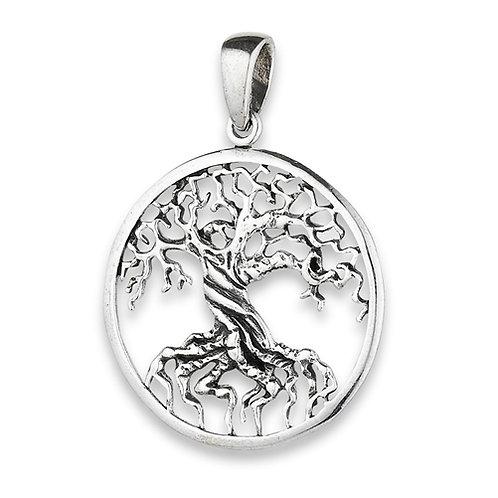 Silver Celtic tree of life Pendant Design #2
