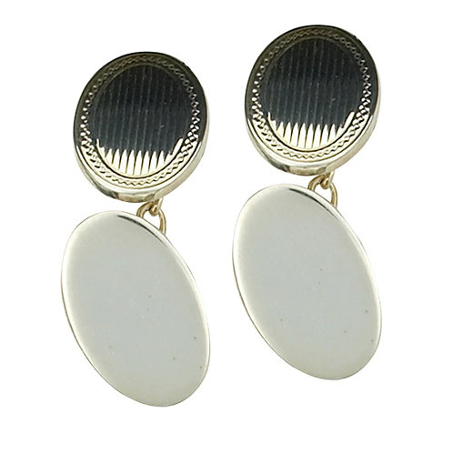 Classic Oval Heavyweight cufflinks