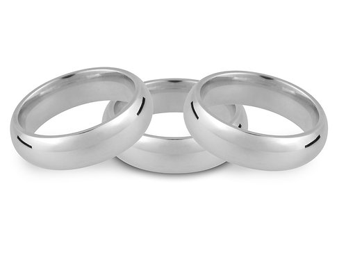 Court Wedding Ring 4mm