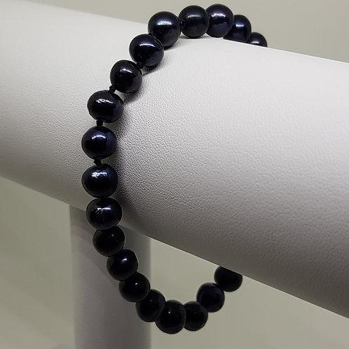 Peacock Cultured Pearl Bracelet AA 6-7mm Pearls