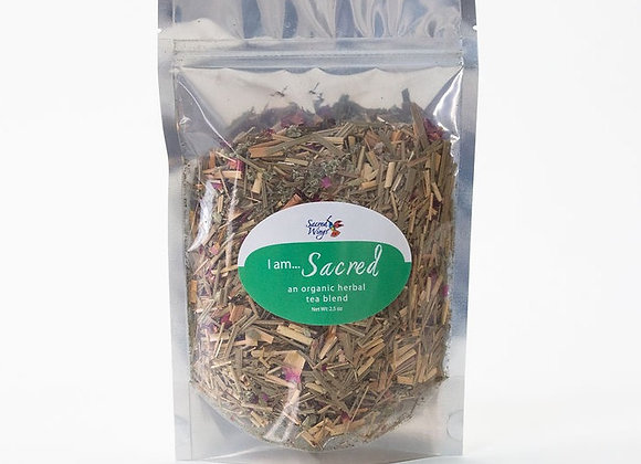 I Am Sacred Organic Herbal Tea Blend