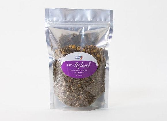 I Am Relaxed Organic Herbal Tea Blend