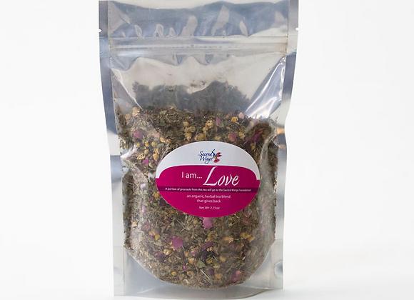 I Am Love Organic Herbal Tea Blend