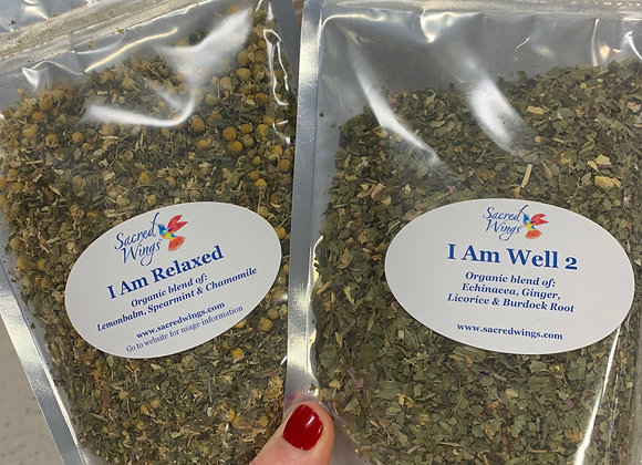 I Am Well 2 Organic Herbal Tea Blend