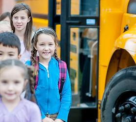 As crianças que chegam na escola