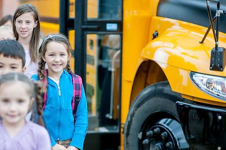 Kinderen Aangekomen op School