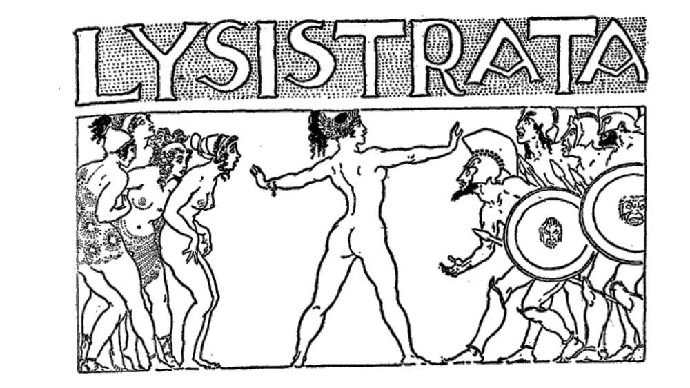 Lisístrata de Aristófanes / Reseña-No-Reseña: Una comedia que me deprime.