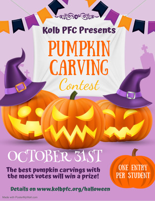 Kolb Pumpkin Contest