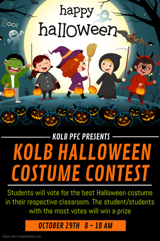 Halloween Costume Contest - Students