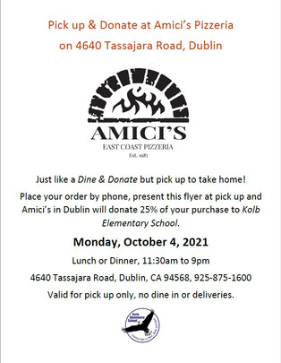 Dine out for Kolb - Amici