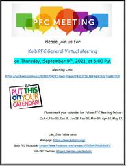 PFC General Board Meeting