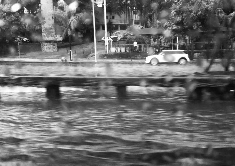 dias chuvosos na viagem