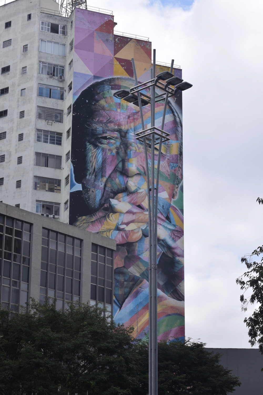 mural de Eduardo Kobra
