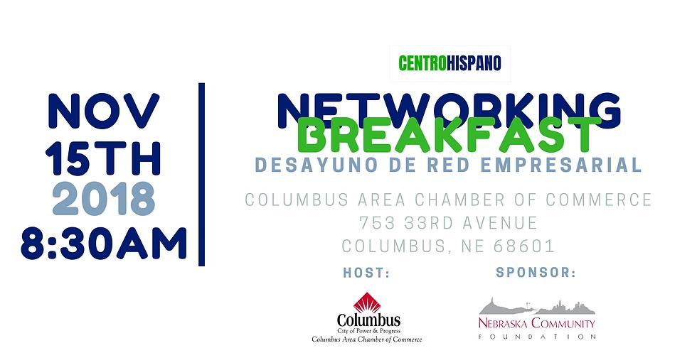 Networking Breakfast/Desayuno de Red Empresarial