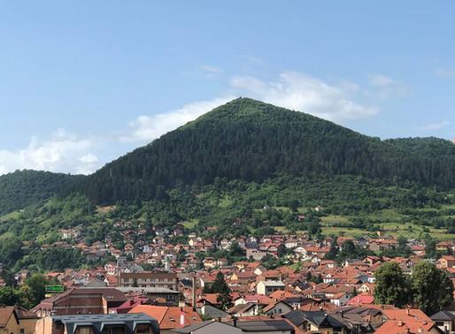 Pyramides de Bosnie, Visoko