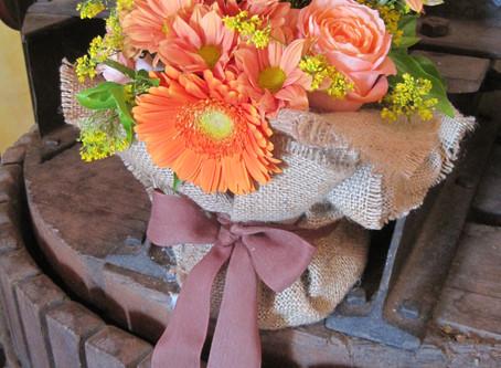 Colore arancio per il matrimonio? W il flame!
