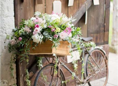 Bicycle themed wedding!