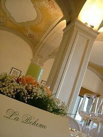 Villa Sanquirico ricevimenti di nozze nella sala d'epoca