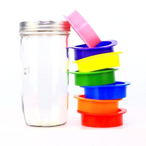 humi pocket red mason jar storage freshness