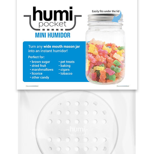 humi pocket clear mason jar storage freshness re-useable