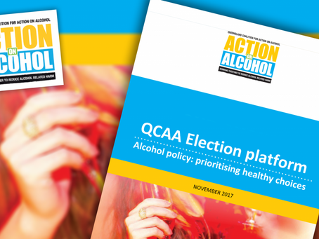 QLD ELECTION: More To Be Done To Reduce Alcohol Related Harm – MEDIA RELEASE