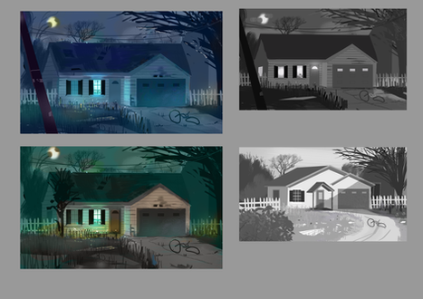 Haunted Suburban House comps