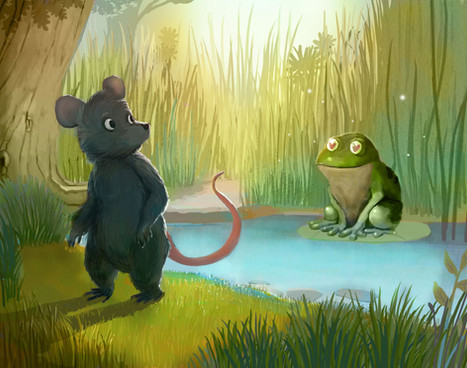 Aesop's Fables-The Mouse and the Frog