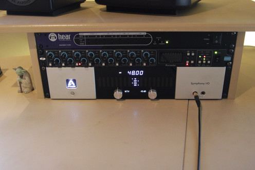 Apogee Symphony, fantasic pre's and conversion.