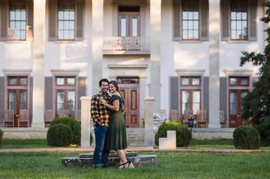 Engagement Session at Belle Meade Plantation and Percy Warner Park | James & Stacy
