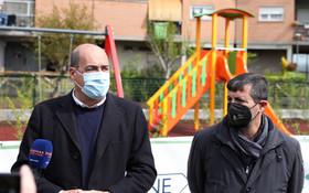 INAUGURATA LA NUOVA AREA VERDE ATTREZZATA NEL COMPLESSO ATER DI PRIMA PORTA