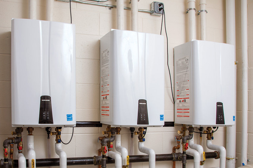 Navient Tankless Water Heater installed