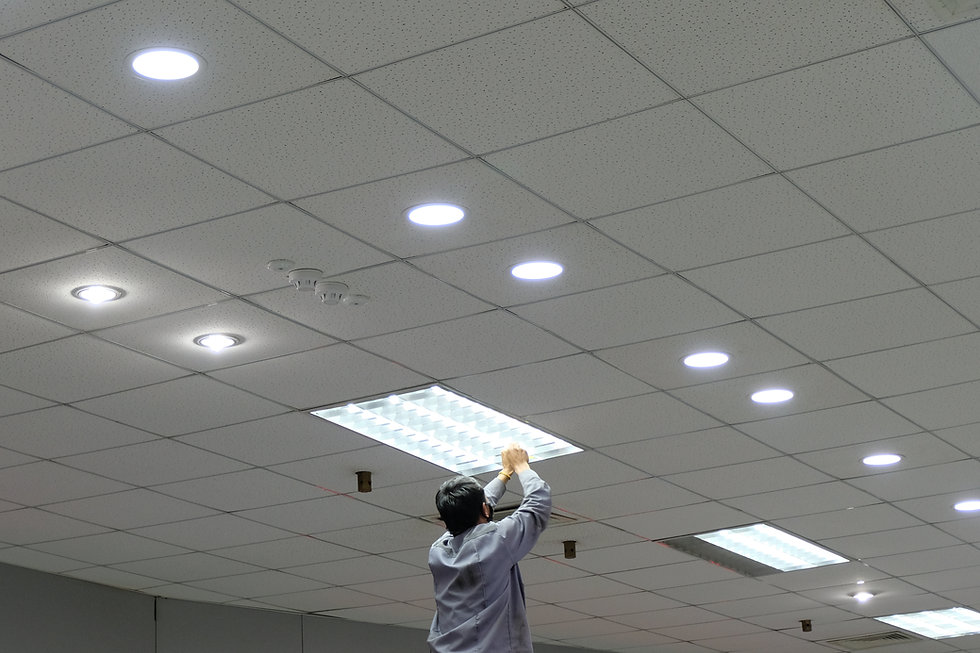 Chagng to led light fixtures