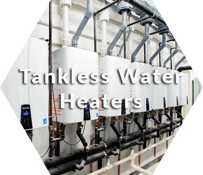 change old water heater to new tankless water heater