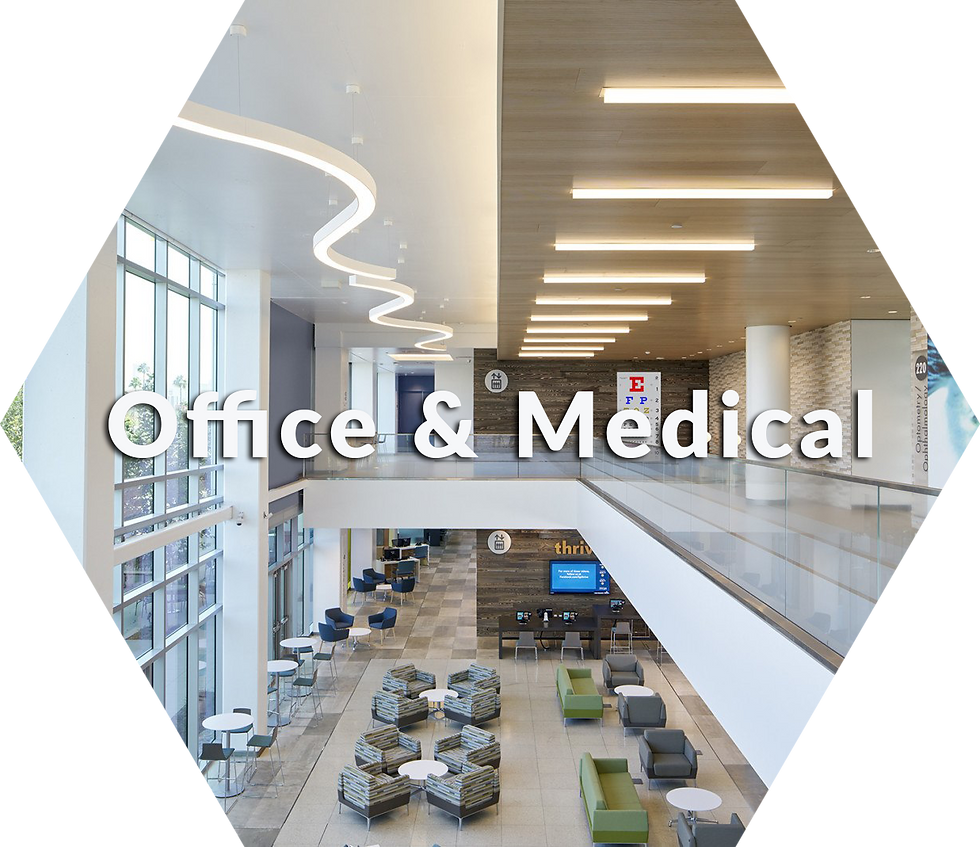 change medical offices old light fixtures to leds