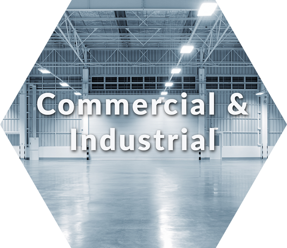 change commercial industry old light fixtures to leds
