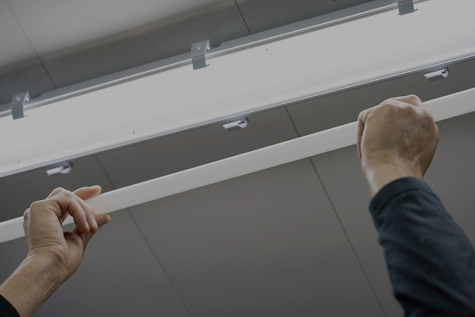 Change to led light fixtures