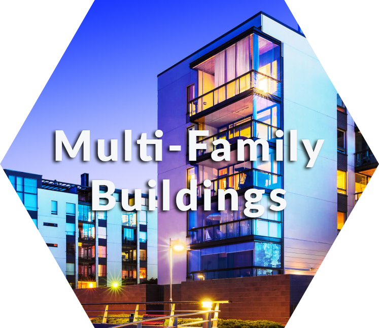change multi-family buildings old light fixtures to leds