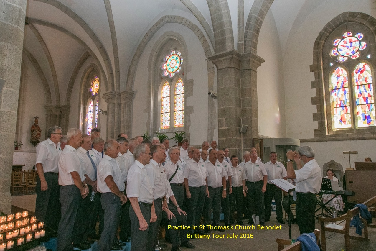 Practice in Benodet Brittany July 2016