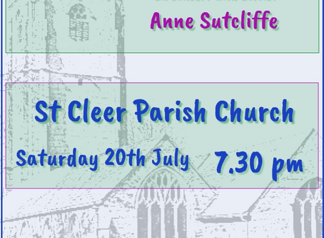 St Cleer  with Anne Sutcliffe