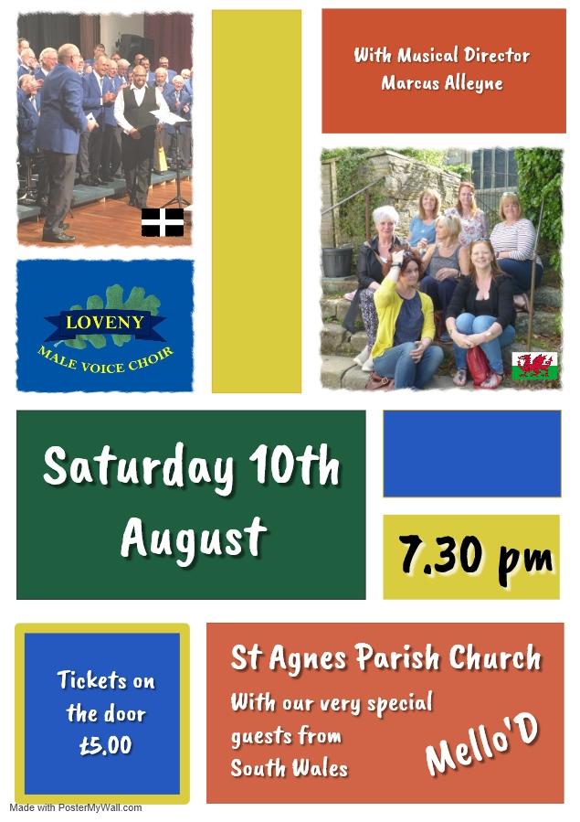 Poster - St Agnes 2019