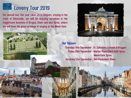 Loveny Tour to Belgium