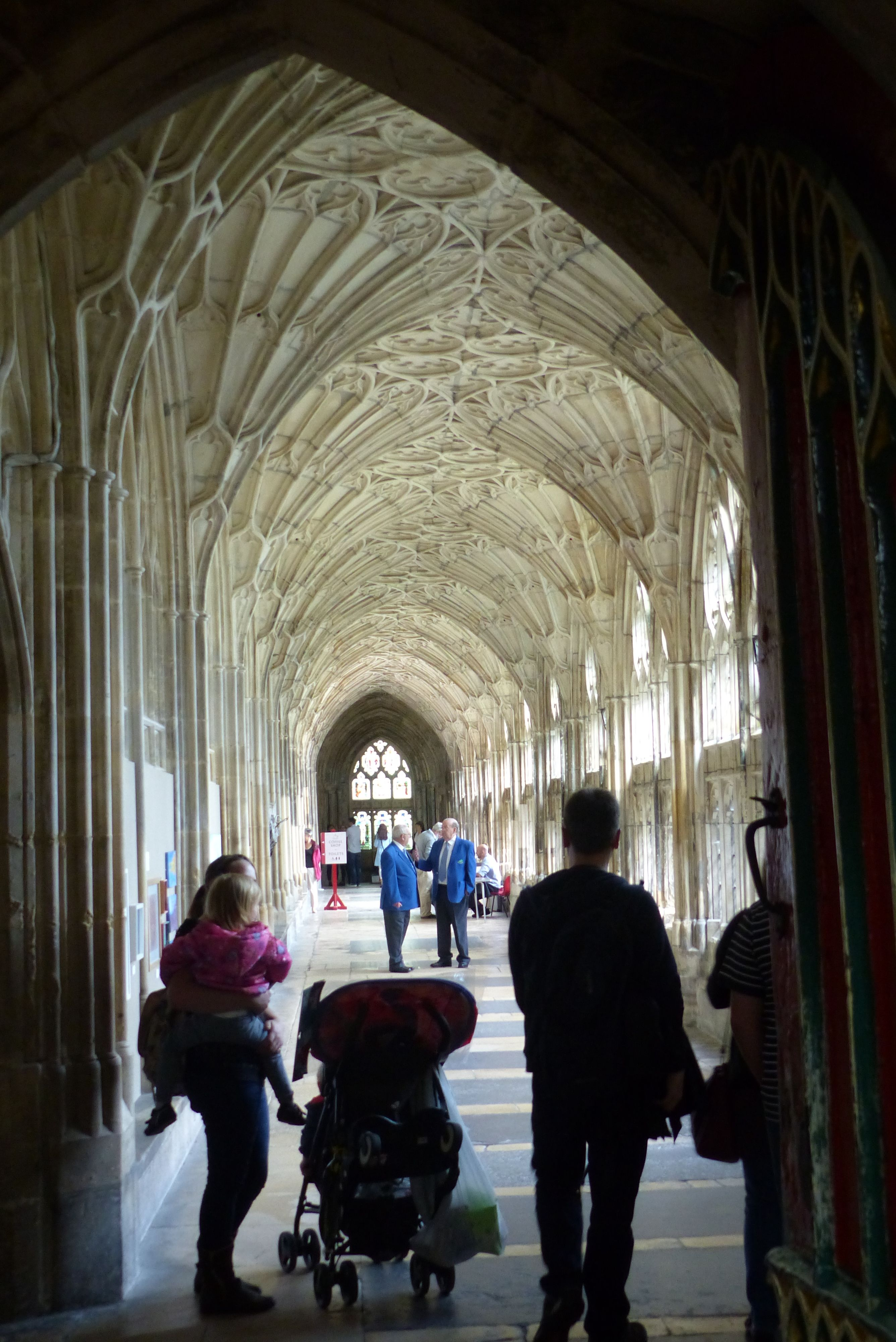 Gloucester Cathedral Cloisters 2017