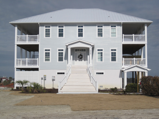 Topsail Island Yacht Club Clubhouse Finished!