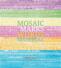 Mosaic Marks Words Material