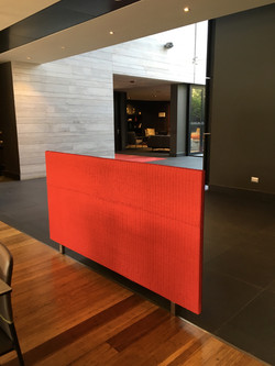 Mueble Separador - Mimbre Rojo