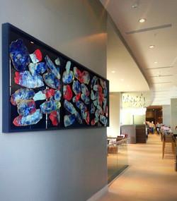 Mural Gres + Cristal -Escamas de Mar