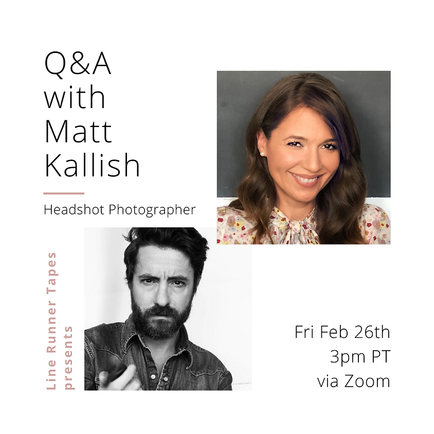 Q&A with Headshot Photographer Matt Kallish