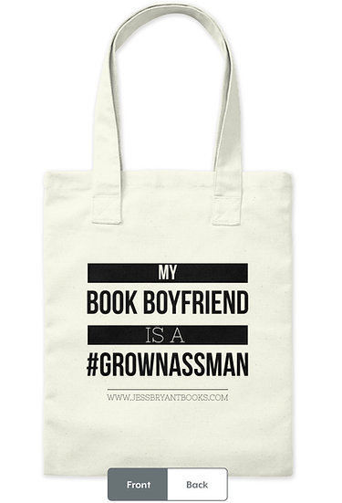 #GrownAssMan Tote